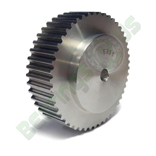 AL16T2.5/44-0 T2.5 Aluminium pulley for a 6mm wide belt