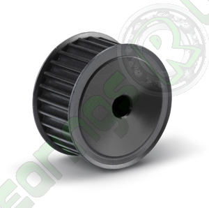 12-5M-09F(PB) Pilot Bore HTD Timing Pulley, 12 Teeth, 5mm Pitch, For A 9mm Wide Belt