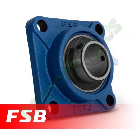 "UCF205-14 FSB Self Lube 4 Bolt Flange Unit 7/8"" Shaft (SF7/8)"