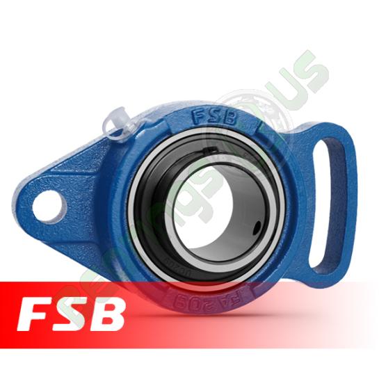 "UCFA205-14 FSB Self Lube 2 Bolt Adjustable Flange Unit 7/8"" Shaft"