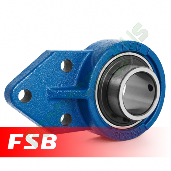 "UCFB205-14 FSB Self Lube Bracket Flange Unit 7/8"" Shaft"