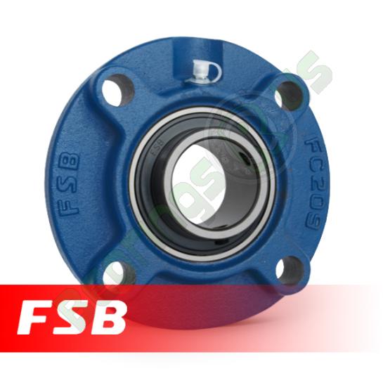 """UCFC205-14 FSB Self Lube 4 Bolt Flange Unit 7/8"""" Shaft (FC7/8)"""