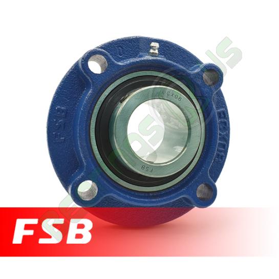 UCFCX12 FSB Self Lube 4 Bolt Flange Unit 60mm Shaft (MFC60mm)