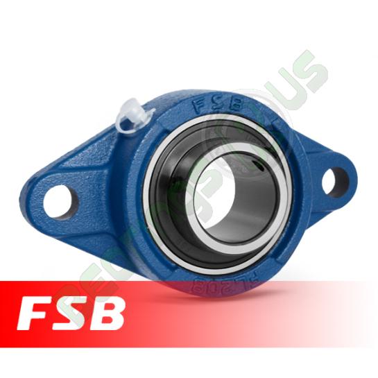 "UCFL205-14 FSB Self Lube 2 Bolt Flange Unit 7/8"" Shaft (SFT7/8)"