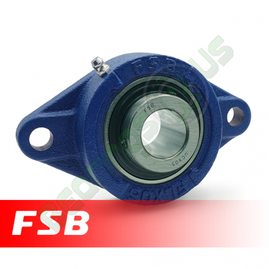 "UCFLX05-14 FSB Self Lube 2 Bolt Flange Unit 7/8"" Shaft (MSFT7/8)"