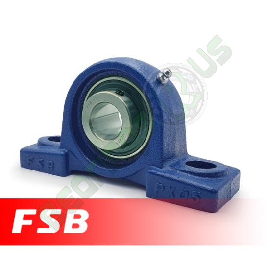 "UCPX05-14 FSB Self Lube 2 Bolt Pillow Block 7/8"" Shaft (MP7/8"")"