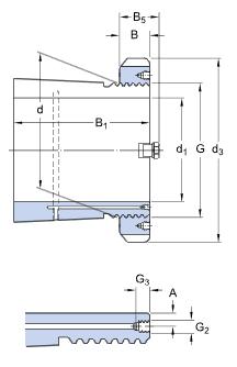 Adapter Sleeve Diagram