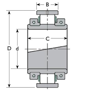 Cooper Bearing EX Diagram