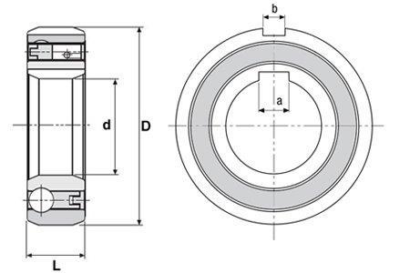 CSK40PP Clutch Bearing