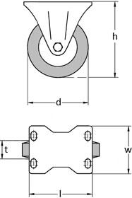 Fixed Castor Diagram