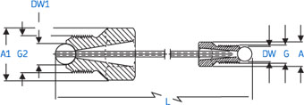 SKF High Pressure Pipe Diagram
