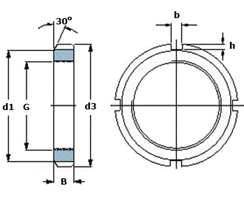 Lock Nut Diagram
