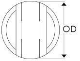Ruland Oldham Coupling Insert Diagram