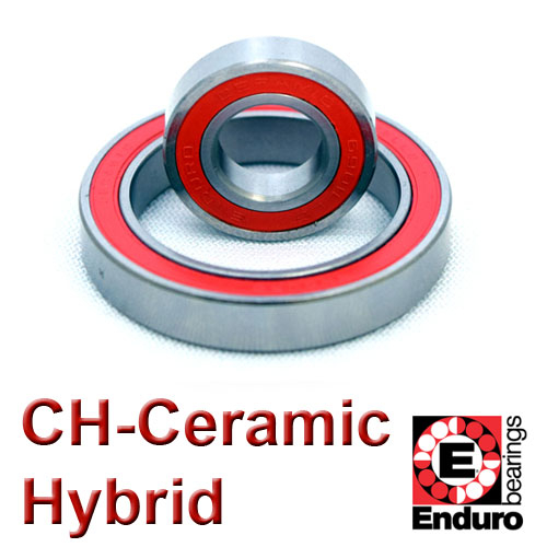 CH63800LLB CERAMIC HYBRID - ABEC 5 Enduro Bike Bearing 10x19x7mm