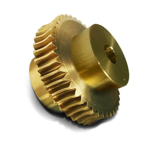 BWW15/16/1R 1.5 Mod 16 Tooth Metric Wormwheel in Bronze 20° PA