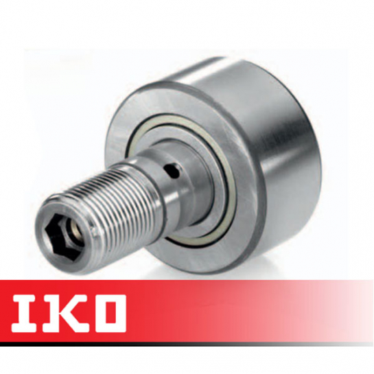 CF18BR IKO Cam Follower 40mm Crowned Roller - Stud M18x1.5Thread