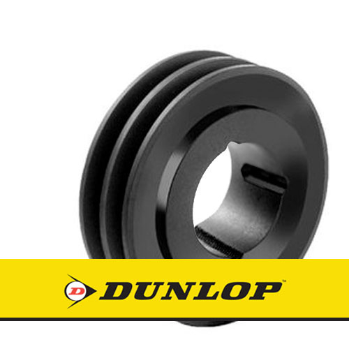 SPA190X2 Vee Belt Pulley - SPA Section 2 Groove - Taper Bush 2012