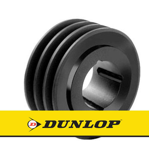 SPA190X3 Vee Belt Pulley - SPA Section 3 Groove - Taper Bush 2517
