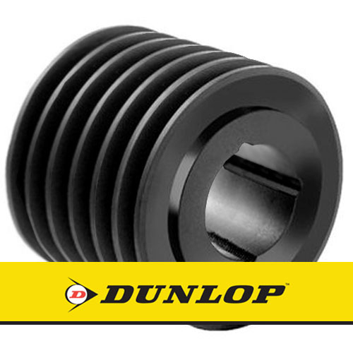 SPA190X6 Vee Belt Pulley - SPA Section 6 Groove - Taper Bush 3020