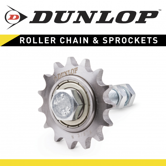 N1/2-10S Dunlop Tensioner Idler Sprocket for Chain Drives