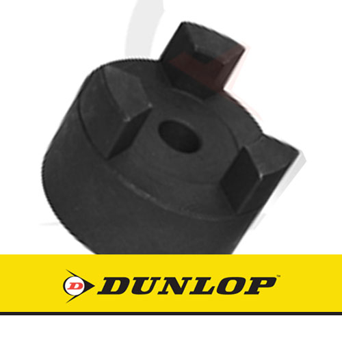 L100 Jaw Coupling Hub - 12mm Pilot Bore