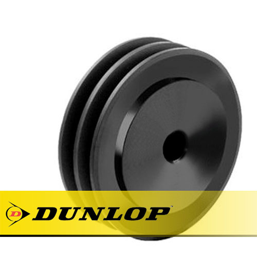 SPA355X2 Vee Belt Pulley - SPA Section 2 Groove - Pilot Bore