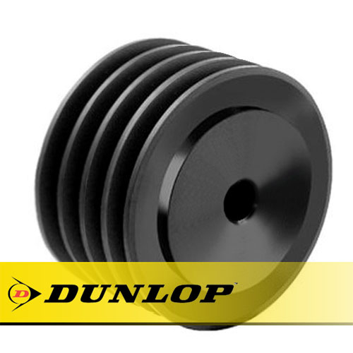 SPA190X4 Vee Belt Pulley - SPA Section 4 Groove - Pilot Bore