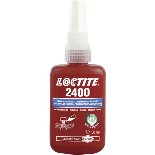 Loctite 2400 - Medium Strength Health & Safety Friendly Threadlocker 250ml