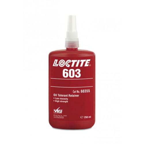 Loctite 603 - High Strength Low Viscosity Oil Tolerant Retainer 250ml