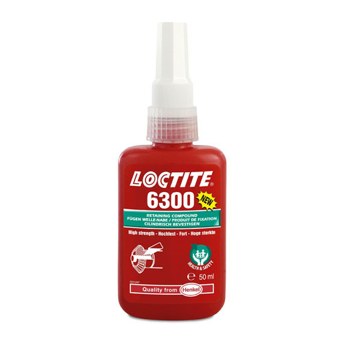 Loctite 6300 - High Strength Health & Safety Friendly Retainer 250ml