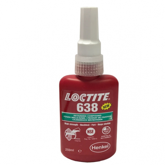 Loctite 638 - High Strength Fast Cure Retainer 250ml