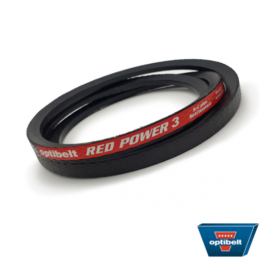 SPZ1237 Red Power 3 Optibelt High Performance SPZ Section Wedge Belt