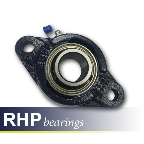 SFT17 RHP Self-Lube 2 Bolt Flange Bearing Unit 17mm Shaft