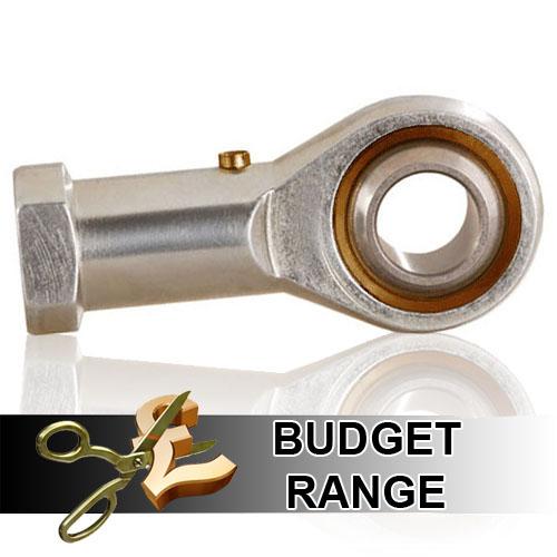 PHS18L Budget Left Hand Thread Female Steel Rod End 18mm Bore M18x1.5 Thread