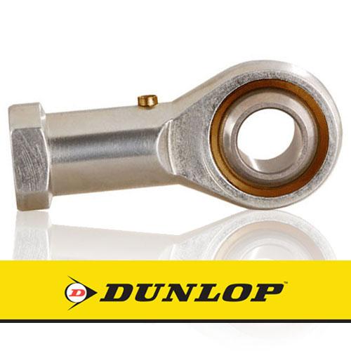 FB-M16 DUNLOP Right Hand Thread Female Steel Rod End 16mm Bore M16x2 Thread