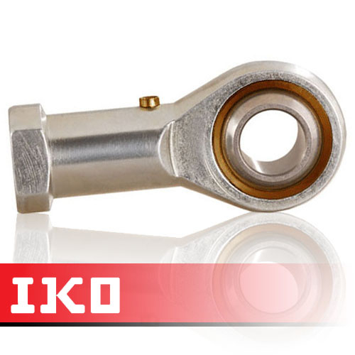 PHS6 IKO Right Hand Thread Female Steel Rod End 6mm Bore M6x1 Thread