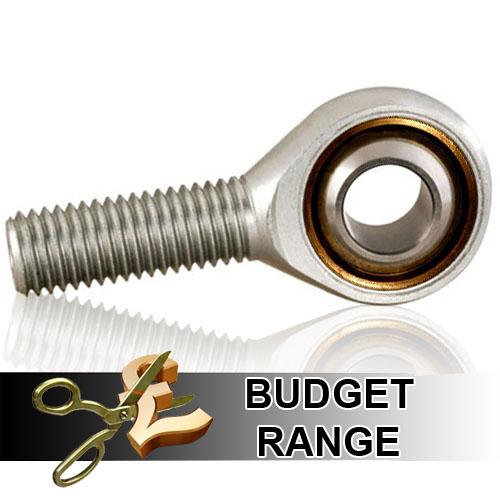 POS25 Budget Right Hand Thread Male Steel Rod End 25mm Bore M24x2 Thread