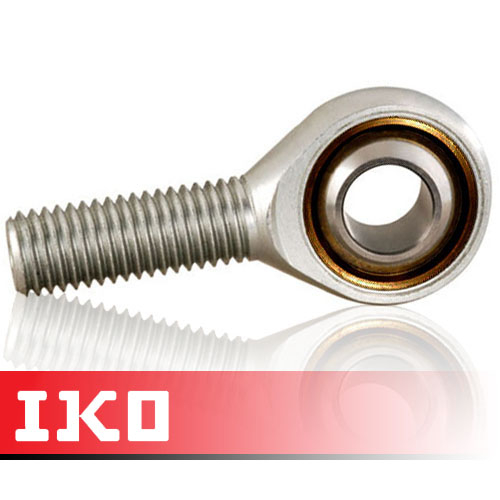 POS6L IKO Left Hand Thread Male Steel Rod End 6mm Bore M6x1 Thread