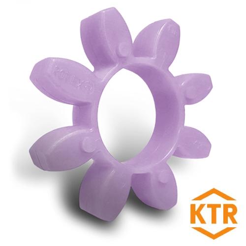 KTR Rotex19 PURPLE Polyurethane Spider Element - 98sh-A