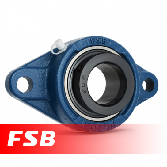 SAFL204 FSB Self Lube 2 Bolt Flange Unit 20mm Shaft (SFT20EC)
