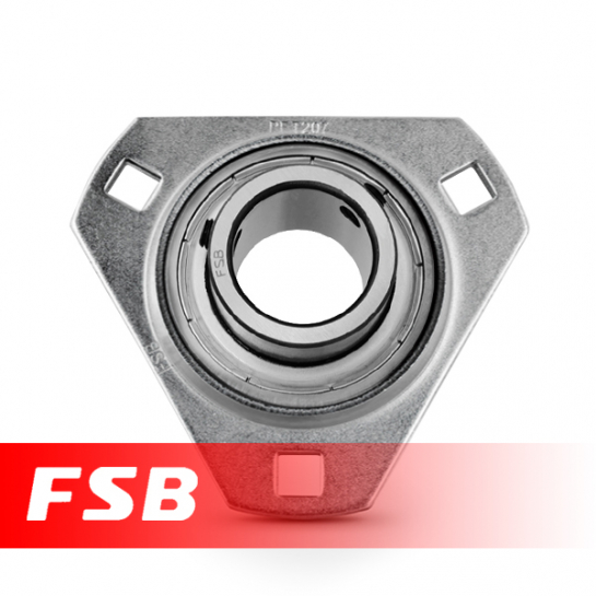 SBPFT201 Pressed Steel Housing Flange Unit 12mm shaft