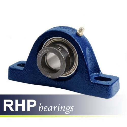 NP3/4DEC RHP Self-Lube 2 Bolt Metric Pillow Block Bearing