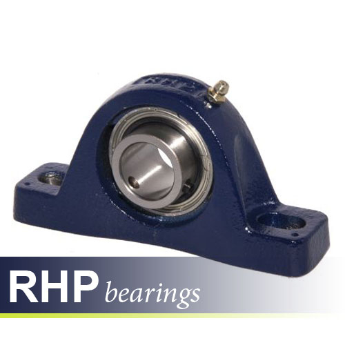 SL5/8 RHP Self-Lube 2 Bolt Metric Pillow Block Bearing