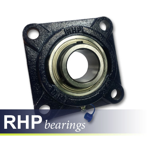 SF17 RHP Self-Lube 4 Bolt Flanged Bearing
