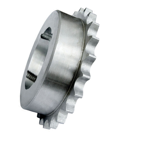 """81-76 (16B1-76) 1"""" Pitch Cast Iron Taper Lock Simplex Sprocket"""