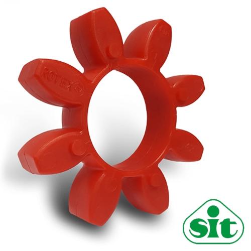 SIT Trasco38 RED Polyurethane Spider Element - 98sh-A