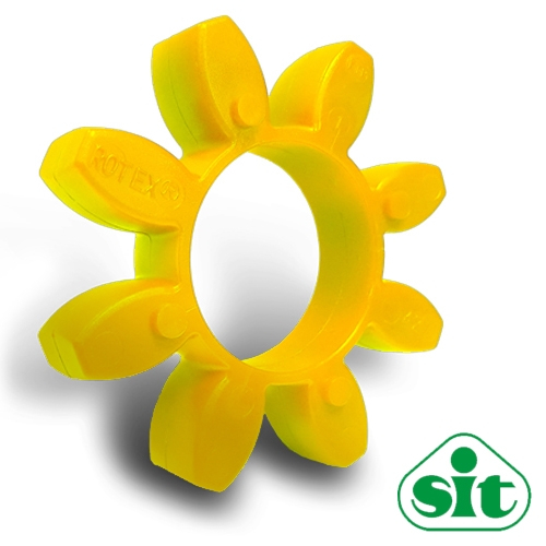 SIT Trasco28 YELLOW Polyurethane Spider Element - 92sh-A