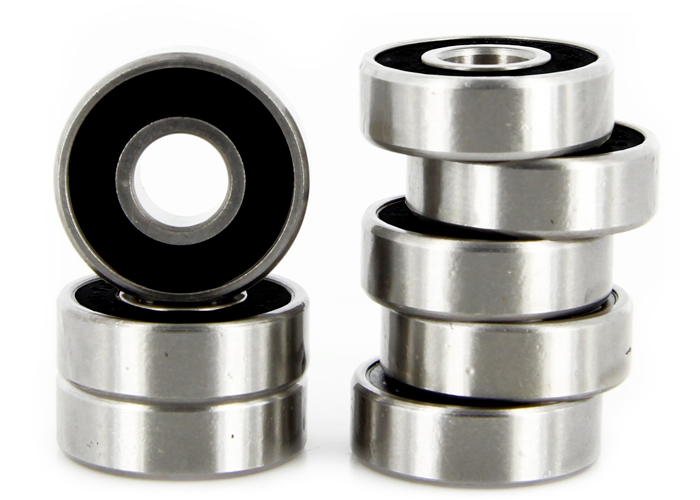 608 2RS Skateboard Bearing Set (8)