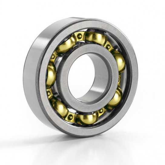 6322M/C3 SKF Brass Cage Deep Groove Ball Bearing 110x240x50mm
