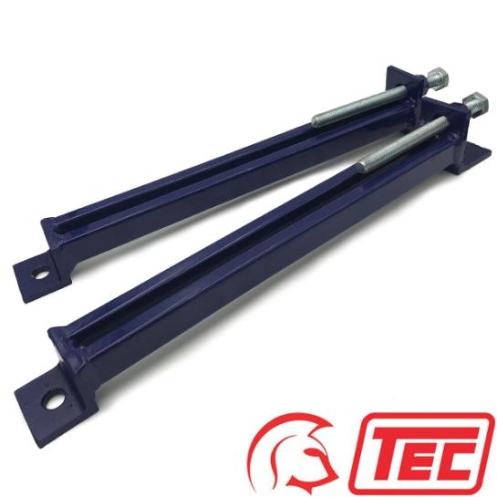TEC Motor Slide Rails M1618 for Motor Frame Size D160-D180